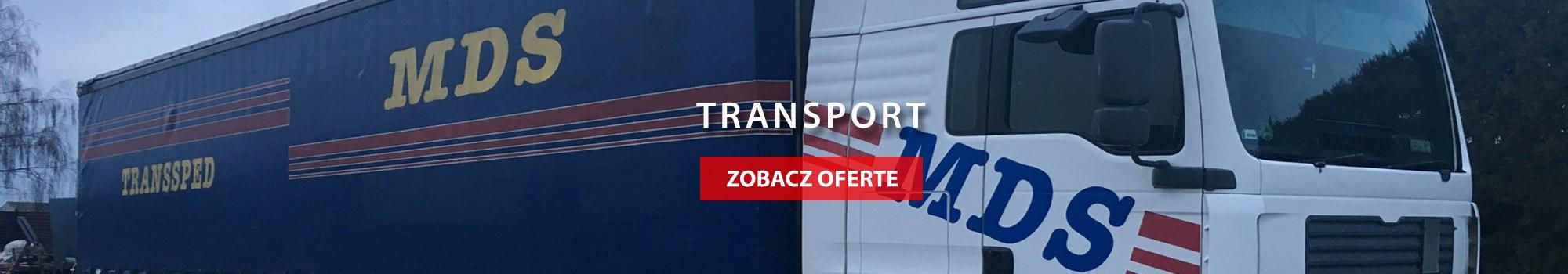 Transport maszyn Poznań MDS Transsped